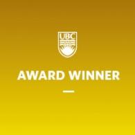 Postdoc receives UBC Postdoctoral Fellows Travel Award