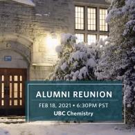 Chemistry Alumni Reunion - Snowy Building Exterior