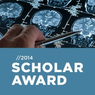 Michael Smith Foundation for Health Research​ (MSFHR) 2014 scholar award
