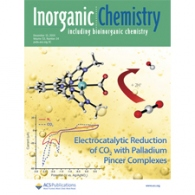 The Wolf Groups article has been featured on the cover of Inorganic Chemistry!