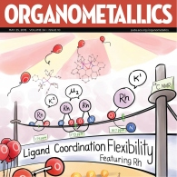 The Love and Schafer groups article is featured on the cover of Organometallic